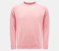 HerrenRundhals-Pullover rosé
