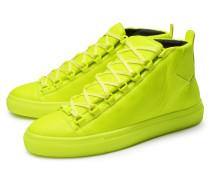 High Top Sneaker 'Arena' neongelb