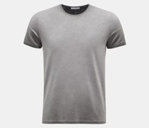 HerrenRundhals-T-Shirt 'Robin' grau