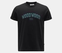 Rundhals-T-Shirt 'Bobby IVY' schwarz