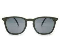 Sonnenbrille '#E Sun' oliv/grau
