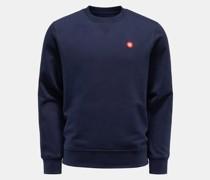 Rundhals-Sweatshirt 'Tye' navy