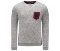 Woolrich - R-Neck Sweatshirt grau