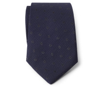 Krawatte navy/grau gemustert