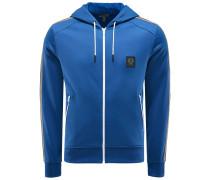 Sweatjacke 'Woodlow' blau