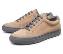 Sneaker hellbraun/grau