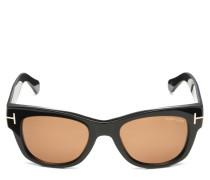 Sonnenbrille 'Cary' schwarz/braun