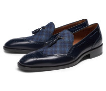 Tassel Loafer navy