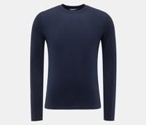 Rundhals-Sweatshirt 'Clint' navy