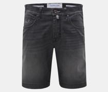 Denim-Bermudas 'J6636 Comfort Slim Fit' anthrazit