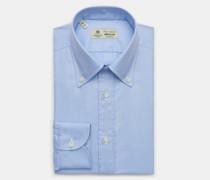 Oxford-Hemd 'Gable' Button-Down-Kragen hellblau