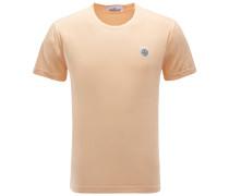 R-Neck T-Shirt apricot