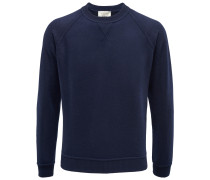 Bruno Manetti - R-Neck Pullover navy