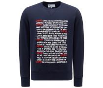 Sweatshirt mit Rundhals 'Aacaste' navy
