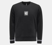 HerrenRundhals-Sweatshirt schwarz
