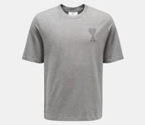 Rundhals-T-Shirt grau