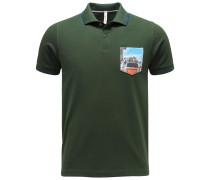 Poloshirt dunkelgrün