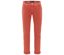 Baumwollhose 'J688 Custom Comfort Slim Fit' orange