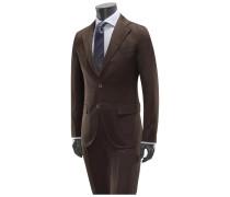 Anzug dunkelbraun