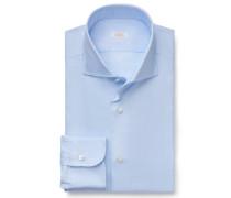 Business Hemd Haifisch-Kragen hellblau