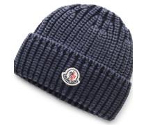 Moncler - Mütze dunkelblau