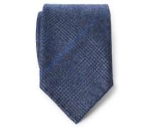 Krawatte graublau kariert