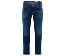 Jeans 'Tellis Modern Slim' dunkelblau
