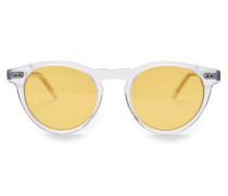 Sonnenbrille transparent/gelb