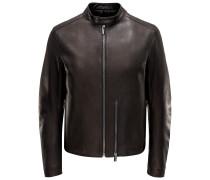 Balenciaga - Lederjacke schwarz