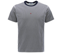 R-Neck T-Shirt 'Marina' navy/weiß