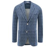 Jersey-Sakko 'Giacca' blau kariert