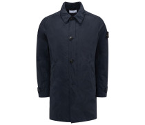 Mantel 'Micro Reps' dark navy