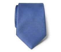 Ermenegildo Zegna - Seidenkrawatte blau gemustert