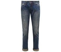 Jeans L34 dunkelblau