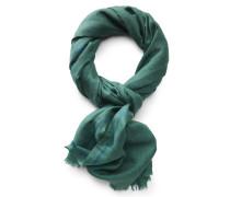 Schal grün gemustert