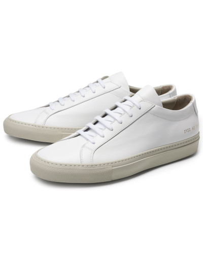 Common Projects Herren Sneaker 'Original Achilles' weiß/beige