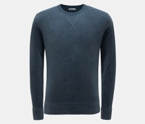 HerrenRundhals-Sweatshirt 'Aarmidio' rauchblau