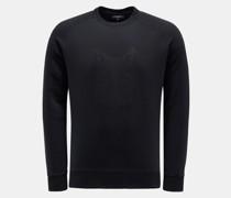 HerrenRundhals-Sweatshirt 'Wolf' dark navy