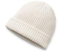 Cashmere Mütze beige