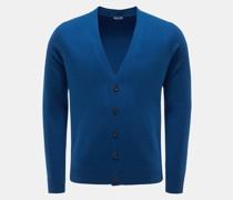 HerrenCashmere Cardigan blau