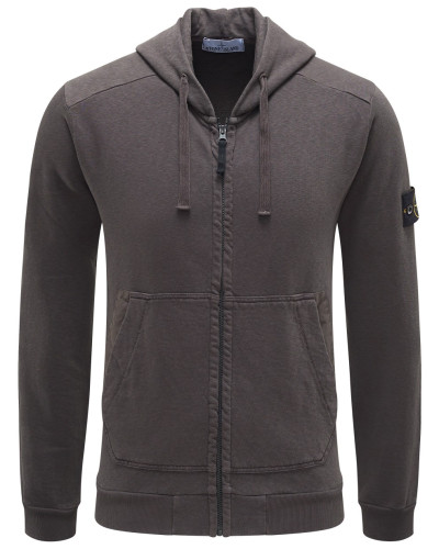stone island herren stone island sweatjacke dunkelgrau reduziert. Black Bedroom Furniture Sets. Home Design Ideas