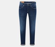 HerrenJeans 'George Skinny Fit' dunkelblau