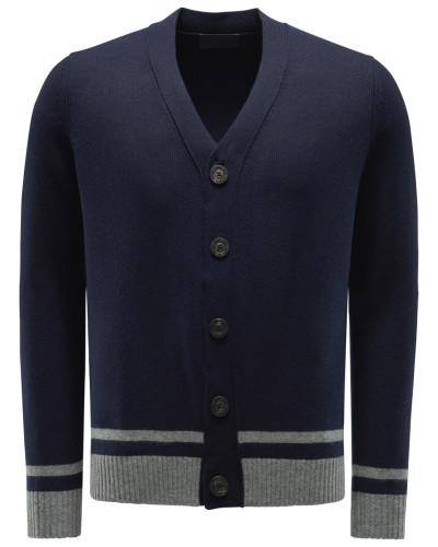 Baby-Cashmere Cardigan 'Arthur' navy