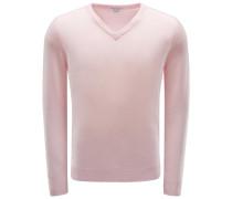 Cashmere V-Neck Pullover rosé