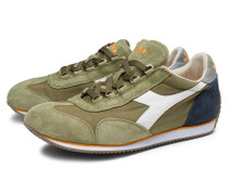 Sneaker 'Equipe Stone Wash' oliv/navy