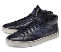 High Top Sneaker graublau