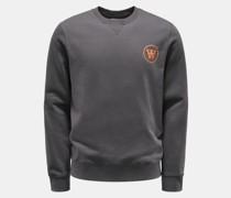 Rundhals-Sweatshirt 'Tye' grau