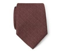 Ermenegildo Zegna - Krawatte dunkelrot gemustert