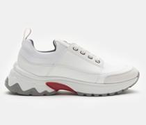 Sneaker weiß/rot