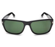 Sonnenbrille 'Mason' schwarz/grün